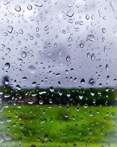 raindrops - Postkarte/ Geschenkkarte/ Fotokarte (gedruckt auf Naturpapier) - Burst