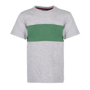 Block Striped T-Shirt  - Cooles Jungen Kinder T-Shirt Kurzarm aus 100% Bio-Baumwolle - Band of Rascals