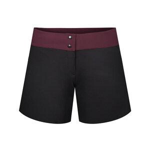 ECONYL® Ultra Light Shorts Damen Schwarz - bleed
