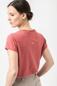 """Bio-Baumwoll-T-Shirt """"Paula 2.0"""" - Grenz/gang"""