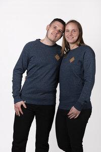 """Unisex Sweater """"ELPatsch"""" in zwei Farben  - ecolodge fashion"""