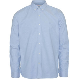 ELDER LS Small Owl Oxford Shirt - GOTS/Vegan - KnowledgeCotton Apparel