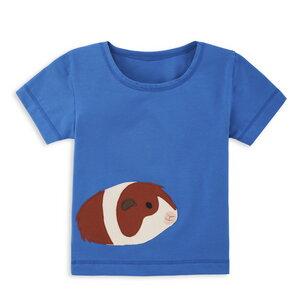 T-Shirt für Kinder mit Applikation - internaht