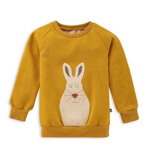 Sweatshirt für Kinder Schneehase - internaht