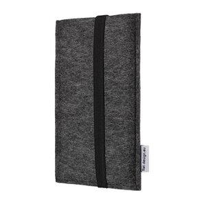 Handyhülle COIMBRA für Fairphone 2 - VEGAN - Filz Schutz Tasche - flat.design