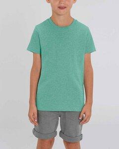 Kinder T-Shirt aus Bio Baumwolle, meliert, viele Farben - YTWOO