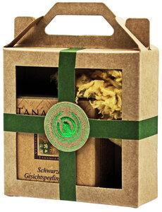Mini Geschenkset mit Gesichtspeelingseife und Naturschwamm - Tanamera®