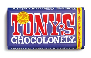Dunkle Vollmilchschokolade 42% Brezel Toffee - 180 Gramm  - Tony´s Chocolonely