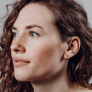 Ohrringe von Nella Earcuffs - Modell Nina - Nella Earcuffs®