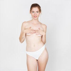 marie mit spitzenbund - string mit spitze aus 90% modal und 10% elasthan - erlich textil