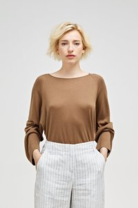 Yvonne - Damen Pullover aus Seide und Kaschmir - Maska