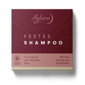 Festes Shampoo für trockenes und coloriertes Haar - Ayluna