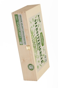 Selbstversorger Saatgut-Holzbox L Bio - Saatgut Dillmann