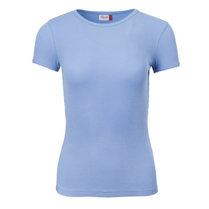 People Wear Organic Damen Ripp T-Shirt Bio-Baumwolle - People Wear Organic
