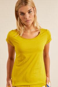 Kurzarmshirt aus Bio-Baumwolle GOTS - LANIUS
