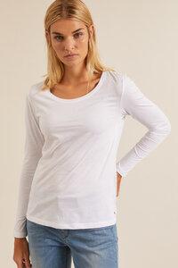 Langarmshirt aus Bio-Baumwolle GOTS - LANIUS