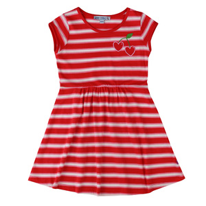 Mädchen Kleid Kirsche - Enfant Terrible