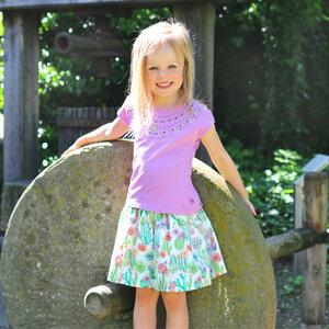 Mädchen Sommer Wenderock Kaktus - Enfant Terrible