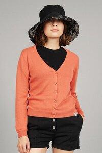 Damen Cardigan SASHA aus Bio-Baumwolle - Komodo