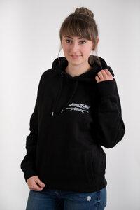 Knoten Unisex Organic cotton Pullover mit Kapuze schwarz - MISSION LIFELINE