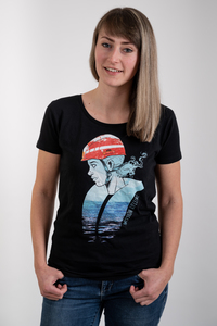 Seenotretterin Damen Organic Cotton T-Shirt  - MISSION LIFELINE