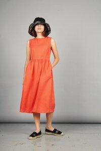 Kleid PRIMROSE aus Tencel und Bio-Leinen - Komodo