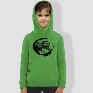 """Kinder Hoodie, """"Dino"""" - little kiwi"""