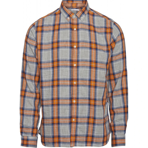 ELDER LS Checked Shirt - GOTS/Vegan - KnowledgeCotton Apparel