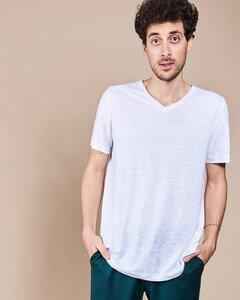 T-Shirt VECTOR FOR MEN Leinen - JAN N JUNE
