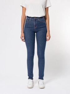 Nudie Jeans Bio-Denim Hightop Tilde Light Navy - Nudie Jeans