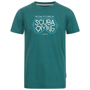 I'm the future of scuba diving Jungen T-Shirt - Lexi&Bö