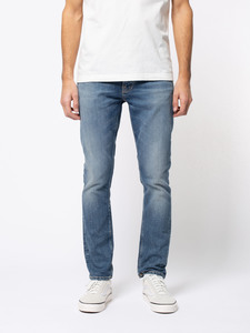 Nudie Jeans Bio-Denim Grim Tim Pale Shalter - Nudie Jeans