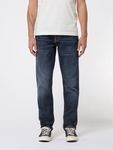 Nudie Jeans Bio-Denim Steady Eddie II Dark Crush - Nudie Jeans