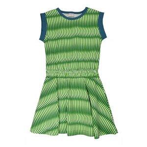 Jersey Mädchenkleid wave green - Baba Babywear