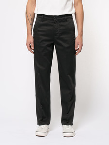 Nudie Jeans Bio-Cotton Lazy Leo Black - Nudie Jeans