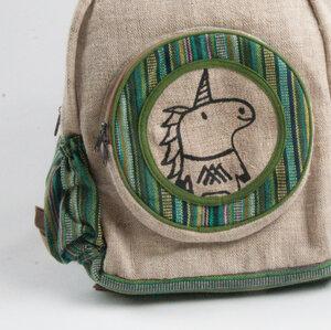 HH Einhorn-Rucksack BULL`S EYE (Backback Big) aus Hanf von Himal Hemp - Himal Hemp