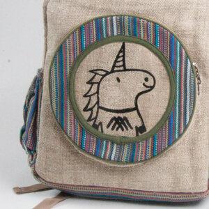 HH Einhorn-Rucksack BULL`S EYE (Backpack Big) aus Hanf von Himal Hemp - Himal Hemp