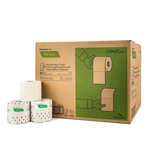 Familienpack Veganes Recycling Toilettenpapier xxl Rollen 400 Blatt - 100% eco