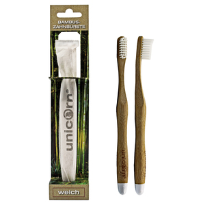 unicorn® Bambus Zahnbürsten - Unicorn