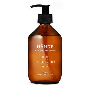 Desinfektionsmittel 500 ml | für Hände zur hygienischen und schnellen Händedesinfektion - 4betterdays