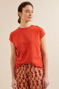 Shirt mit überschnittener Schulter aus Bio-Baumwolle GOTS  - LANIUS