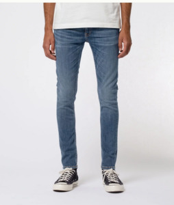 Nudie Jeans Bio-Denim Skinny Lin Dark Blue Navy - Nudie Jeans