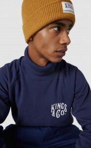 "KOI Pullover ""Fitzgerald""  - Kings Of Indigo"