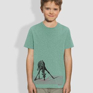 """Kinder T-Shirt, """"In der Savanne""""  - little kiwi"""