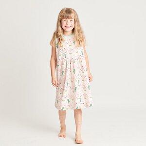 "Ärmelloses Kleidchen aus Bio-Baumwolle ""Alpakas"" - Cheeky Apple"