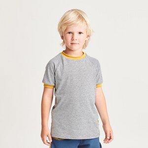 """Buben Kurzarm T-Shirt aus Bio-Baumwolle """"Ringeljersey"""" - Cheeky Apple"""