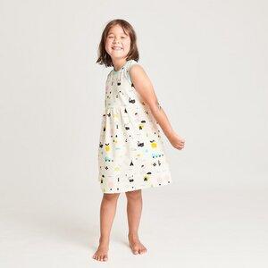 """Ärmelloses Kleidchen aus Bio-Baumwolle """"Lief Leven/Mint"""" - Cheeky Apple"""