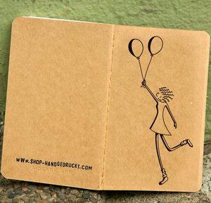 'La petite Valérie' NOTIZHEFT - shop handgedruckt