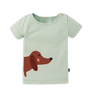 Kurzarm T-Shirt mit Applikation für Babys - internaht