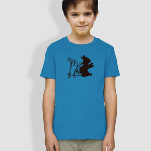 "Kinder T-Shirt, ""Schattenhase"" - little kiwi"